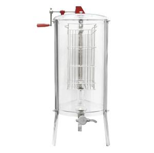2 Frames full transparent  Manual  honey extractor