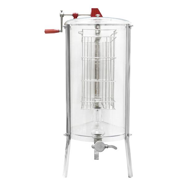 2 Frames full transparent  Manual  honey extractor