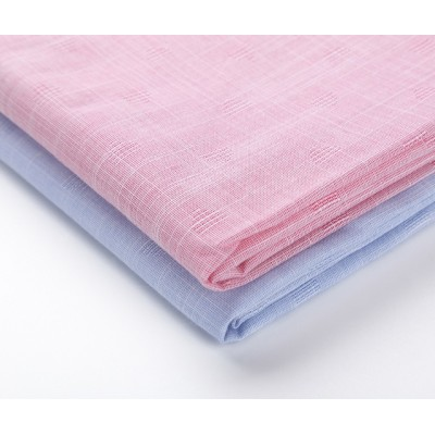 Wholesale factory price cotton woven fabrics top selling custom shirting cotton linen fabric