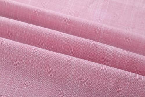 Wholesale factory price cotton woven fabrics top selling custom shirting cotton linen fabric