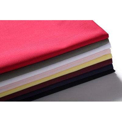 wholesale custom dyed woven textile fabric high quality 100% cotton shirting poplin 100  fabric