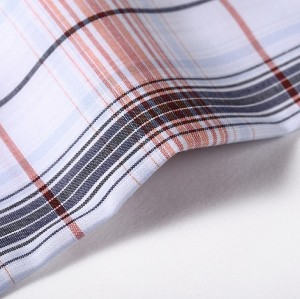 High Quality Professional Combed Shirting Woven Fabrics Hot Sale Fashion Garment Shirts Fabric