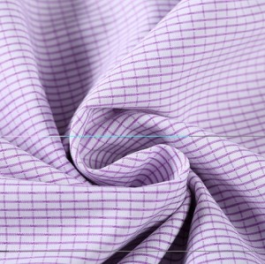 Yarn dyed shirting woven textile fabric wholesale high density cotton fabrics for clothing