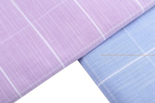 100% cotton plaid shirt fabric anti-static textile