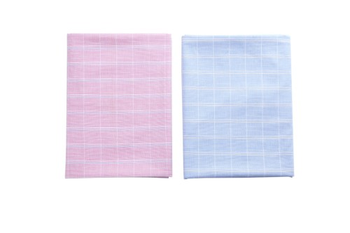 Wholesale Plaid Shirt Woven Fabric High Quality 100% Cotton Shirt Fabric