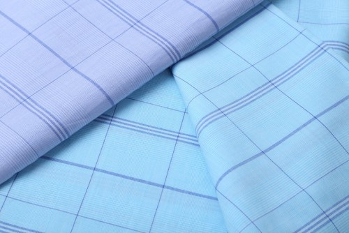 Latest design multiple fiber shirt woven fabrics hot sale fashion blend cotton tencel fabric