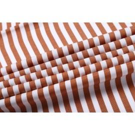 Wholesale Tencel linen striped blend fabric weaving fabric