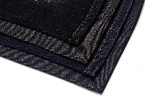 Stock lot jeans cloth fabrics 10 oz 14 oz 16 oz china factory custom cotton denim fabric