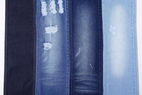 Wholesale 100% cotton high stretch jeans fabric