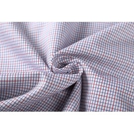 Custom 100% Cotton Shirt Fabrics Hot Sale Fashion Plaid Woven Textiles Fabric For Garment
