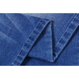 Newest design popular cotton elastane denim fabric for jeans