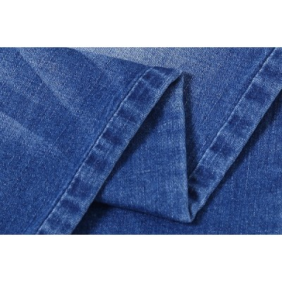 Newest design popular cotton elastane denim fabric for jeans