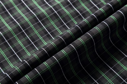 New Design fashion stripe woven fabric custom 100% cotton fabric for shirt