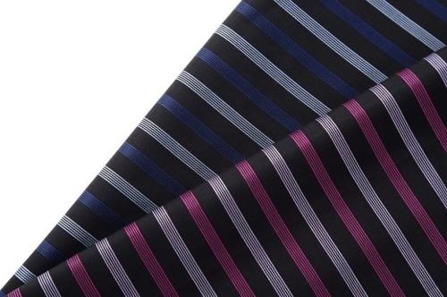 New design fashion striped fabric 100% cotton custom woven fabric for shirt