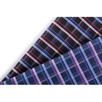 Top quality custom check shirting 100% cotton fabric wholesale yarn dyed cotton fabric