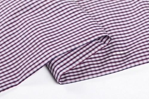 High quality custom plaid 100% cotton textile fabrics stocklot wholesale fashion cotton fabric for shirting