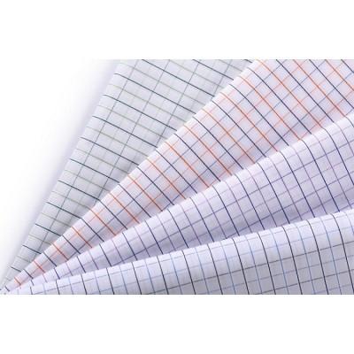 Hot selling Custom 100% Cotton Shirting Woven Fabrics Fashion Plaid Fabric For Shirt