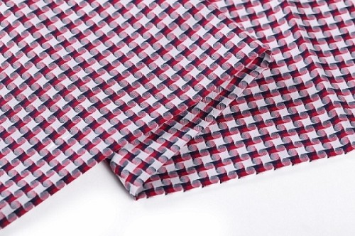 Factory direct sales plaid woven shirt soft 100% cotton fabric stock lot