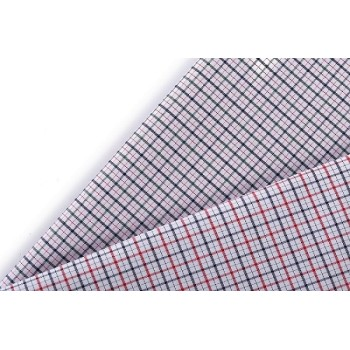Wholesale custom checked colour stretch shirt cotton textile cotton printed fabric