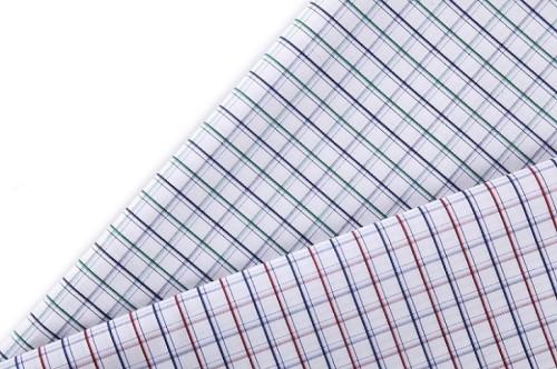 Hot sale fashion designs soft comfortable 100% cotton stretch jacquard woven fabric