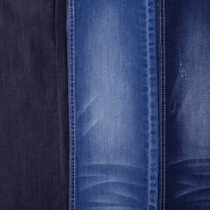 Popular high stretch jeans 90% cotton polyester 5.5oz fabric denim textile