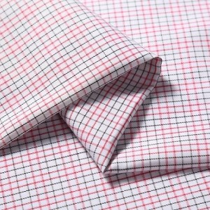 Top guality 100% cotton 50s yarn dyed new design shirting fabric for men's shirt