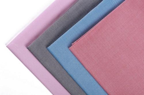 Hot sale comfortable custom color 100% cotton woven jacquard fabric textile