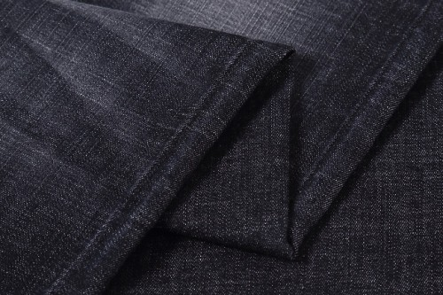 Breathable cotton for jeans 3% viscose heavy 8oz denim stretch fabric