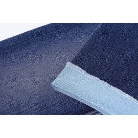 Wholesale woven stretch blend polyester cotton 12 oz denim fabric high quality
