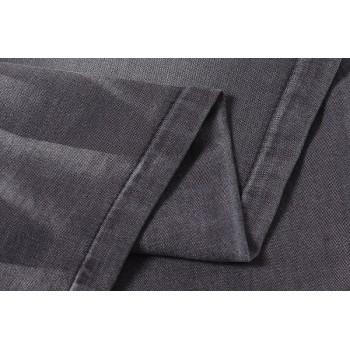 Hot selling good quality stretch black denim fabric wholesale