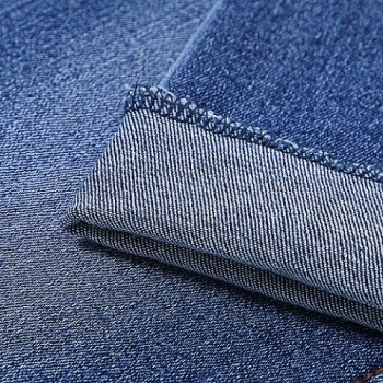 New design factory direct soft elastane denim fabric for jeans