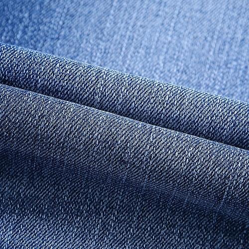 New design factory direct soft elastane denim fabric for jeans