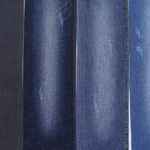 Factory price produce woven 8*8 high stretch denim fabric for men