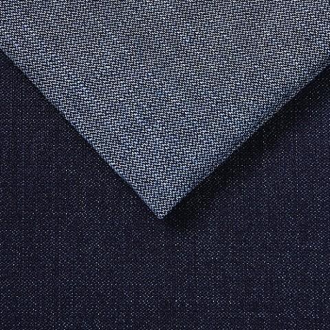Custom design 10*10 woven denim 66 cotton 33 polyester 1spandex