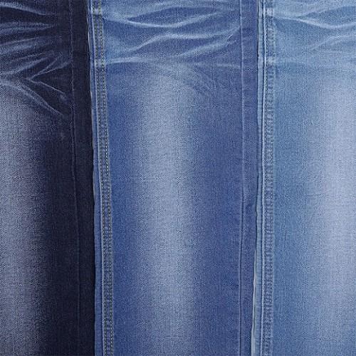 Factory supply soft breathable cotton elastane denim fabric