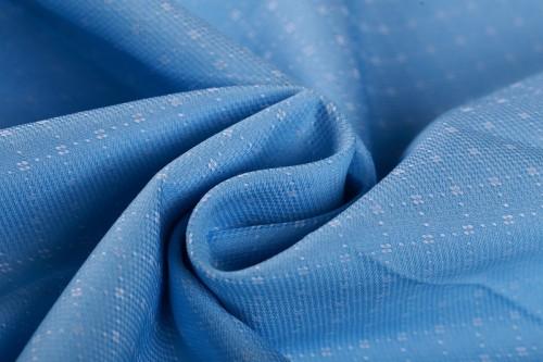 2019 new style yarn dyed jacquard fabric hot sale fashion custom 100% cotton shirting fabric