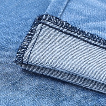 Accept OEM/ODM woven 8+8*12TR/40+70 viscose spandex denim cotton fabric for jeans