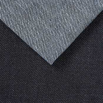 China manufacturers making blue gray high-stretch denim textile