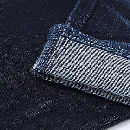 China manufacturers making blue gray high-stretch denim textile