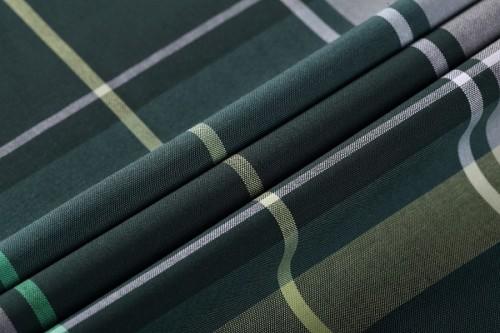 Good quality Fashion Egyptian Mercerizing 100% Cotton Fabrics stock Shirt Woven Fabric
