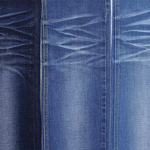 China manufacture new product woven design printed denim fabric for jeans