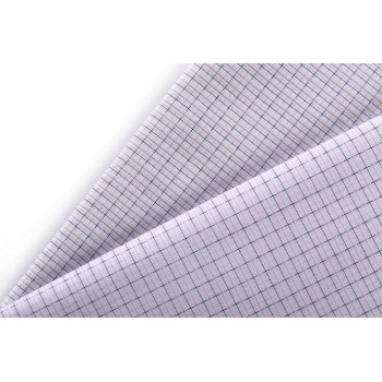 Good quality 100% cotton comfortable woven garment plaid fabric for shirt textile