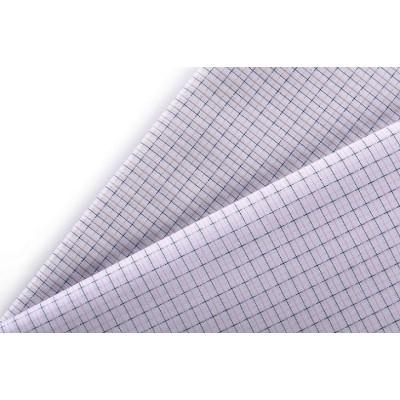 Good quality 100% cotton comfortable woven garment plaid fabric for shirt textile