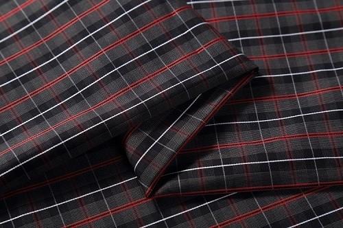 Wholesale high quality adult clothing textile cotton poplin stripe dress fabric