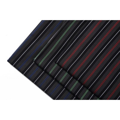 Customized comfortable stocklot garments checked cloth italian cotton plaid man shirt fabric