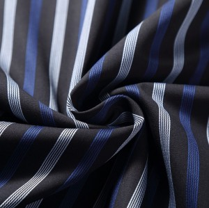Hot fashion newest yarn dyed woven shirt 100% cotton stripe knits fabric