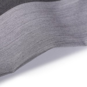 Factory direct sale stock lot anti static brushed sports fabric polyester spandex