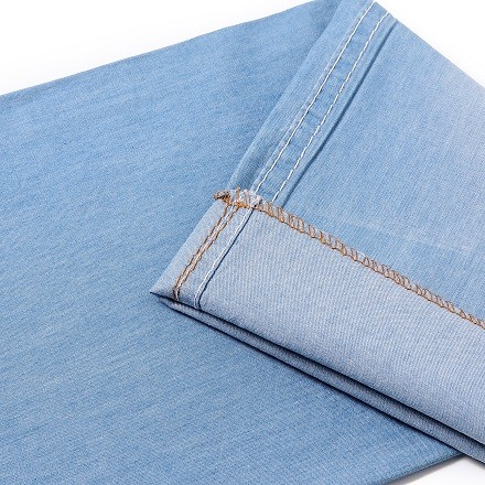 Hot fashion newest light weight jeans comfortable denim fabric
