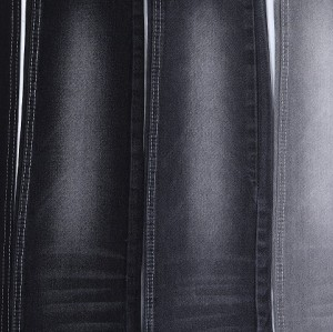 Eco friendly high quality low stretch comfortable cotton polyester denim fabric