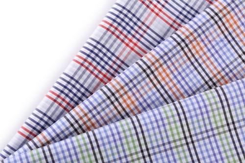 China supplier woven 100 cotton garment colorful guangzhou shirt men fabric textile